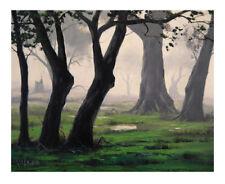 Green Art Landscape Paintings