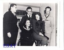 Leslie Howard Director George Cukor RARE Photo Gone With The Wind