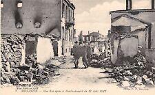 1599) WW1, MONASTIR, MACEDONIA, BOMBARDAMENTO 17/8/17.