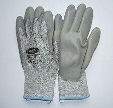 10 Paar STRONG HAND Arbeitshandschuhe  Schutzhandschuhe  GRAU Gr. 10