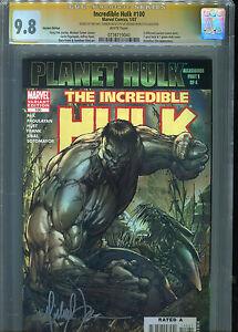 Incredible-Hulk#100 (Vol 2) CGC 9.8 SS Michael Turner (Grey Variant)