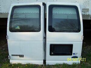 1992 thru 2007 Ford Econoline E150 E250 E350 Rear Doors 1 pr.  NO SHIPPING