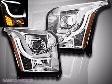 15-16 GMC Yukon XL Denali/SLE/SLT Utility 4D LED CCFL Projector Headlights