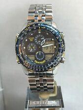 Citizen Men's Blue Engels Novihawk Promaster WouldTime Bracelet Watch JN0040-58L