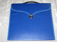 Blue Masonic Apron Case Freemason Lock Key Lodge Fraternity Jewels NEW!