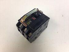 Square Qob345 Circuit Breaker W/ Handle Lock 45Amp/3Ph/240V/10Ka Bolt-On