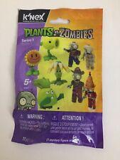 K'NEX Plants vs. Zombies Series 1 New Sealed Mystery Pack #53437