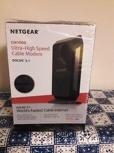 NETGEAR CM1000 CABLE MODEM (2 MONTHS OLD)