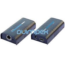 HDMI Extender via LAN cat5 cat6 rj45 Cavo di rete infinitamente 1080p AMPLIFICATORE