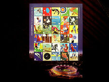 LONDON 2012 OLYMPICS FIRST CLASS STAMPS SHEET