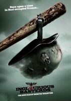 INGLOURIOUS BASTERDS Movie PHOTO Print POSTER Quentin Tarantino Brad Pitt Art 03