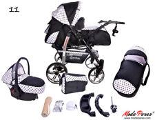 sistema de viaje para bebé 3 en 1 - con accesorios y silla de auto