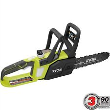 Ryobi Cordless Chainsaw 10 in. 18-Volt Lithium-Ion Pruning Branches Limbs Yard