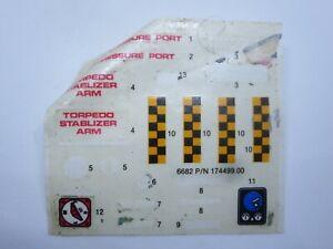 GI Joe Vehicle Stickers Decent Shape GI JOE Vintage  WD