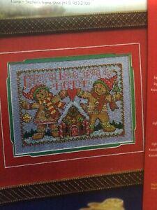 Counted Cross Stitch Pattern Gingerbread Fun