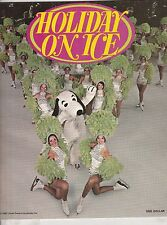 HOLIDAY ON ICE 1974 PROGRAM-SNOOPY ON THE COVER