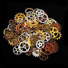 100g Mélange de couleurs Steampunk Engrenage Horloge Accessories du bricolage BA