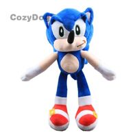Cartoon Hedgehog Plush Toy Soft Stuffed Animal Doll 10'' Figure Birthday Gift