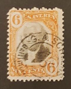 US Revenue Stamps Scott R138 International Revenue