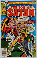 Son of Satan #5 VF 8.0 1976 Bronze Age Marvel Comics See Pics