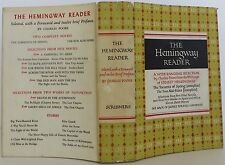 ERNEST HEMINGWAY The Hemingway Reader INSCRIBED FIRST EDITION