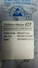 Endress Hauser RMC621X-NA power supply for RMC621 Energy manager computer