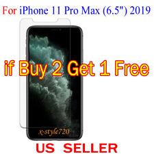 """1x Clear Screen Protector Guard Cover For Apple iPhone 11 Pro Max ( 6.5"""" ) 2019"""