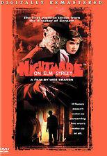 Wes Craven A NIGHTMARE ON ELM STREET (Remastered DVD) Freddy Kreuger HORROR 1984