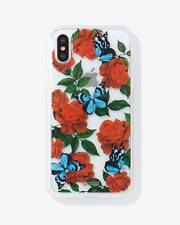 Sonix Phone Case Rhinestone Butterfly Garden, iPhone XS/X