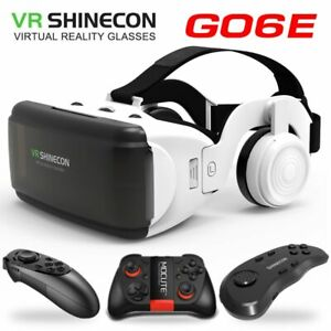 New VR glasses Shinecon Pro Virtual reality 3D VR glasses Goggle Headset Control