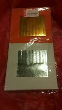 """CHINESE JOSS PAPER Yuan Bao - 90 """"pair"""" sheets Orange and Gold, and Silver"""