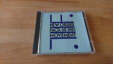 Movement - New Ordner - Musik CD Album