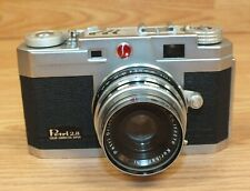 Vintage Petri Carperu 2.8 Kuribayashi Orujjor Japan Made Film Camera **READ**