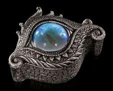 Drachen Augen Schatulle - Caerulus - Fantasy Gothic Schmuckkästchen Geschenk