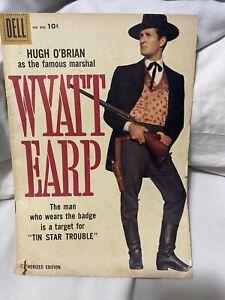 Wyatt Earp – Dell #890 - 1958 Hugh O'Brian Comic Book Western