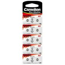 Blister 10 piles bouton Camelion AG 1 / LR60 / LR621 / 364 EXPEDITION FRANCE