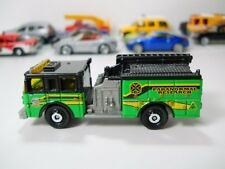 Matchbox Paranormal Research Pierce Dash Fire Engine  JC31