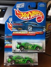 1999 Hot Wheels X-Treme Speed Series Lot of Two Callaway C7 #966 Wheel Variation