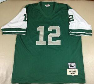 Vintage New York Jets Joe Namath #12 Mitchell & Ness Jersey Size60