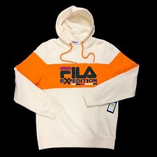 NEW Fila Expedition Men's Medium Pullover Hoodie Sweatshirt Kingston Colorblock