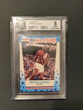 1989-90 Fleer Stickers #3 Michael Jordan BGS 8