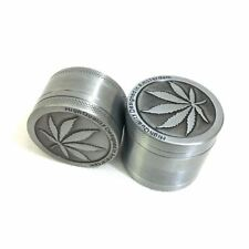 New Aluminum Grinder Alloy Grinders Metal Rasta Metal Tobacco Herb Spice Crusher