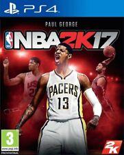 NBA 2K17 VIDEOGIOCO PS4 GIOCO EU PLAY STATION 4 ITALIANO BASKET 2018 SIGILLATO