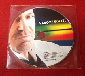 VASCO ROSSI - CD DIMOSTRATIVO - I SOLITI - SOLO STAMPA / PROMO