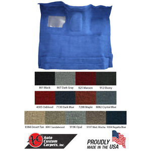 1987-96 Ford F-150 F-250 F-350 Standard Cab Carpet - SEE DESCRIPTION FOR FITMENT