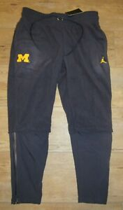 Jordan Michigan Wolverines Sphere Performance Jumpman Therma Pants Men's 3XL