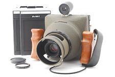 NEAR MINT AERO TAC 4x5 Aerial Camera w/ Schneider Symmer-s 135mm F/5.6 MC JAPAN
