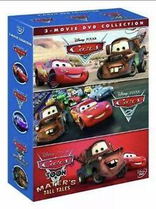 Cars / Cars 2 / Cars Toon (DVD, 2011, 3-Disc Set, Box Set)