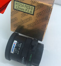 1pc New Computar H1214FICS-3 12mm fixed focal length manual iris lens