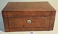 C85 Très ancien coffre en bois XIX ème siècle